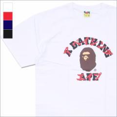 (2017新作・新品)A BATHING APE (エイプ)  KATAKANA COLLEGE TEE (Tシャツ)  1D30-110-091 200-007284-040-(半袖Tシャツ)