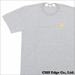 (新品)PLAY COMME des GARCONS (ギャルソン)  GOLD HEART ONE POINT TEE 200-006748-052x (半袖Tシャツ)