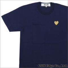(新品)PLAY COMME des GARCONS (ギャルソン)  GOLD HEART ONE POINT TEE 200-006748-047x (半袖Tシャツ)