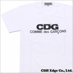 (新品)COMME des GARCONS(コムデギャルソン)  x D&DEPARTMENT CDG LOGO TEE(Tシャツ)  WHITE 200-006783-040 (半袖Tシャツ)