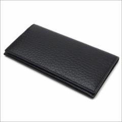 (新品)COMME des GARCONS HOMME PLUS  (コムデギャルソン オム プリュス)  型押しレザー 長財布  BLACK 271-000366-011 (グッズ)