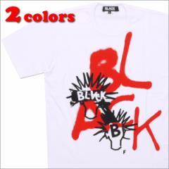 (2016新作・新品)BLACK COMME des GARCONS(ブラック コムデギャルソン)  SPRAY LOGO TEE(Tシャツ)  200-006838-050 (半袖Tシャツ)