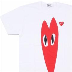 (2016新作・新品)PLAY COMME des GARCONS (コムデギャルソン) Elongated RED HEART TEE WHITE 200-007094-050x(半袖Tシャツ)