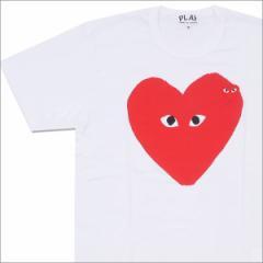 (2016新作・新品)PLAY COMME des GARCONS (コムデギャルソン) Oblong RED HEART TEE WHITE 200-007095-040x(半袖Tシャツ)