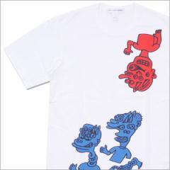 (2017新作・新品)COMME des GARCONS SHIRT (コムデギャルソン シャツ) Character Tee (Tシャツ)  WHITE 200-007266-050x(半袖Tシャツ)