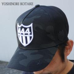 (2016新作・新品)YOSHINORI KOTAKE x BARNEYS NEWYORK 444ロゴ エナメル メッシュキャップ 251-000978-011 (ヘッドウェア)