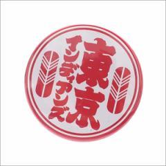 (2016新作・新品)TOKYO INDIANS MC(東京インディアンズ モーターサイクル)  BADGE (缶バッジ)  WHITExRED 290-004166-010+ (グッズ)