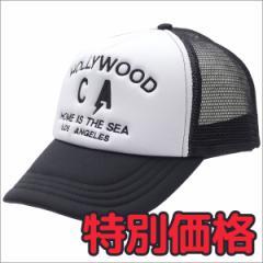 (2017新作・新品)Ron Herman(ロンハーマン)  Hollywood CA CAP (キャップ)  WHITE 251-001112-010+(ヘッドウェア)