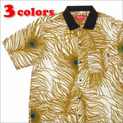 (2016SS新作・新品) SUPREME(シュプリーム)  Peacock Shirt (半袖シャツ)  215-001236-041 (TOPS)