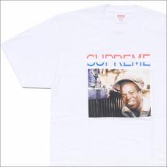 (2016新作・新品)SUPREME(シュプリーム) x Barrington Levy Jah Life Englishman Tee(Tシャツ) WHITE 200-007050-040(半袖Tシャツ)
