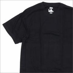 (2016新作・新品)SUPREME(シュプリーム)  x Hanes(ヘインズ)  Tagless Tee (Tシャツ)  BLACK 200-005622-931x(半袖Tシャツ)