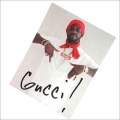 (2016新作・新品)SUPREME(シュプリーム)  Gucci Mane Sticker (ステッカー)  290-004090-119+ (グッズ)