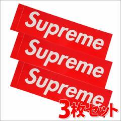 (2016新作・新品)SUPREME(シュプリーム)  Box Logo Sticker (3枚セット)(ボックスロゴ)(ステッカー)  RED 290-000699-013-3+(グッズ)