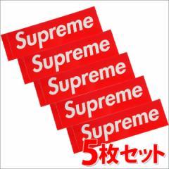 (2016新作・新品)SUPREME(シュプリーム)  Box Logo Sticker (5枚セット)(ボックスロゴ)(ステッカー)  RED 290-000699-013-5+(グッズ)
