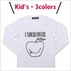 【年に一度の決算セール!!】 (新品)キッズサイズ UNDERCOVER アンダーカバー SMILE APPLE L/S TEE 長袖Tシャツ 202-000725-112 (TOPS)