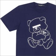 (新品)UNDERCOVER(アンダーカバー)  NEU BEAR Tシャツ  NAVY 200-004825-049x(半袖Tシャツ)