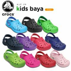 【22%OFF】クロックス(crocs) キッズ バヤ (kids baya)/サンダル/シューズ/ベビー/ボーイズ/ガールズ/《10190-2》[H]