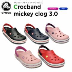 【40%OFF】クロックス(crocs) クロックバンド ミッキー クロッグ 3.0(crocband mickey clog 3.0)/レディース/メンズ/サンダル/シュー