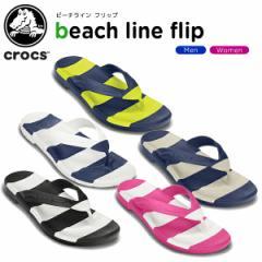 【25%OFF】クロックス(crocs) ビーチライン フリップ(beach line flip ) /メンズ/レディース/