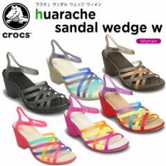 【30%OFF】クロックス(crocs) ワラチェ サンダル ウェッジ ウィメン(huarache sandal wedge w) /レディース/女性用/サンダル