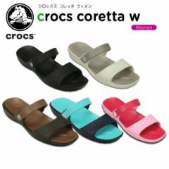 クロックス(crocs) クロックス コレッタ サンダル ウィメン(crocs coretta w) /レディース/女性用/サンダル/シューズ/[H]