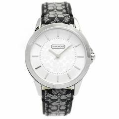 【あす着】コーチ 腕時計 レディース COACH 14501524 クラシックシグネチャー CLASSIC SIGNATURE シルバー/ブラック tem_b