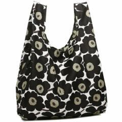 【あす着】マリメッコ 38695 030 SMARTBAG MINI-UNIKKO Shopping Tote ウニッコ スマートバッグ エコバッグ white/black/olive smbg17