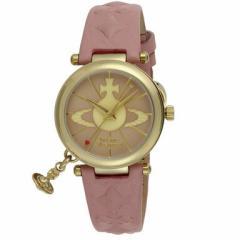 【あす着】ヴィヴィアンウエストウッド 腕時計 レディース Vivienne Westwood VV006PKPK オーブ2 時計/ウォッチ ピンク m_bf