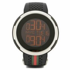【あす着】グッチ 時計 メンズ GUCCI YA114103 Iグッチ 腕時計 ウォッチ ブラック