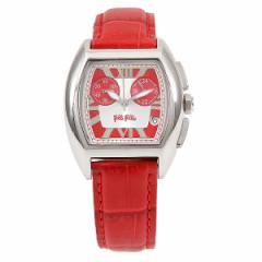 【あす着】フォリフォリ 時計 レディース FOLLI FOLLIE F2010CHRRQ スクエア 腕時計 ウォッチ レッド tem_b