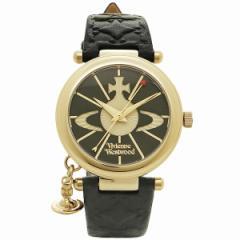 【あす着】ヴィヴィアンウエストウッド 腕時計 VIVIENNE WESTWOOD VV006BKGD ORB II レディースウォッチ ブラック/ゴールド