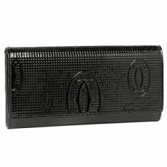 【あす着】カルティエ Cartier 長財布 L3001284 HAPPY BIRTHDAY ハッピーバースデー ブラック