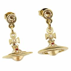 【あす着】ヴィヴィアンウエストウッド ピアス Vivienne Westwood 1467-14-01 ニュータイニーオーブイヤリング ゴールド