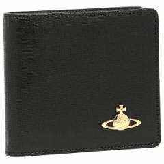 【あす着】ヴィヴィアンウエストウッド 財布 メンズ VIVIENNE WESTWOOD 730 SAFFIANO 2つ折り財布 選べるカラー