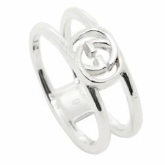 【あす着】グッチ リング レディース/メンズ GUCCI 298036 J8400 8106 インターロッキングGチャーム 指輪 シルバー