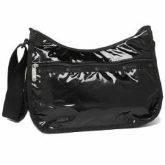 【あす着】LeSportsac レスポートサック 7520 Classic Hobo クラシックホーボー ショルダーバッグ 9908 BLACK PATENT ブラックパテント