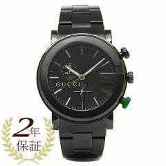 グッチ 時計 メンズ 腕時計 GUCCI YA101331 Gラウンド クロノグラフ ステンレス オールブラック