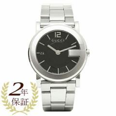 GUCCI グッチ YA101405 Gラウンド ブラック/シルバー メンズ/レディース 腕時計 ウォッチ WATCH