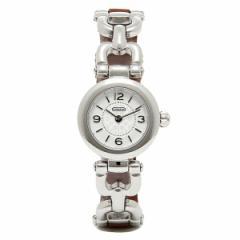 【あす着】コーチ 時計 レディース COACH 14501854 WAVERLY ウェイバリー 腕時計 ウォッチ シルバー ブラウン