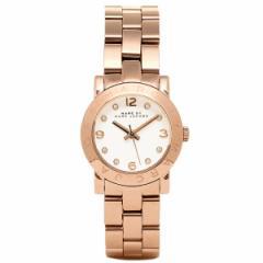 【あす着】マークバイマークジェイコブス 腕時計 レディース MBM3078 Small Amy Crystal ウォッチ ホワイト/ピンクゴールド