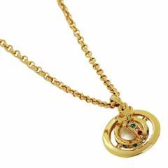 【あす着】ヴィヴィアンウエストウッド ペンダント Vivienne Westwood 1504-14-01 プチオーブネックレス ゴールド
