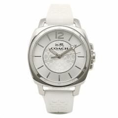【あす着】コーチ 時計 レディース COACH 14502093 BOYFRIEND MINI ボーイフレンドミニ シグネチャー 腕時計 ウォッチ シルバー/ホワイト