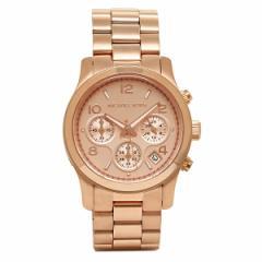 【あす着】マイケルマイケルコース 時計 レディース MICHAEL MICHAEL KORS MK5128 RUNWAY 腕時計 ウォッチ ピンクゴールド