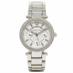 【あす着】マイケルマイケルコース 時計 レディース MICHAEL MICHAEL KORS MK5615 PARKER 腕時計 ウォッチ シルバー/ホワイト