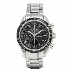 ・OMEGA オメガ スピードマスター デイデイト 3220.50 メンズウォッチ 腕時計 ブラック シリアル有 父の日