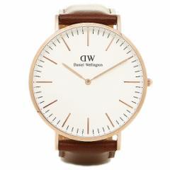 【あす着】ダニエルウェリントン 時計 メンズ/レディース Daniel Wellington 0106DW CLASSIC 40mm 腕時計 ウォッチ STANDREWS/ROSEGOLD