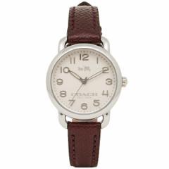 【あす着】コーチ 時計 レディース COACH 14502252 デレンシー 腕時計 ウォッチ ボルドー/シルバー tem_b m_bf