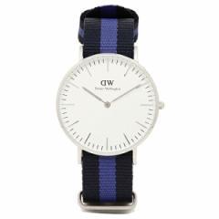 【あす着】ダニエルウェリントン 時計 レディース Daniel Wellington 0603DW 36mm 腕時計 ウォッチ SWANSEA スワンシー/シルバー