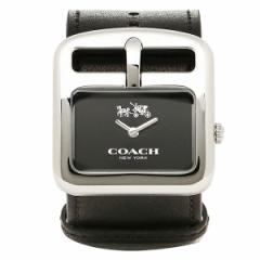 コーチ 時計 COACH 14502324 DUFFLE BUCKLE ダッフルバックル 腕時計 ウォッチ ブラック/シルバー レディース tem_b