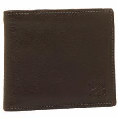 【あす着】イルビゾンテ 財布 IL BISONTE C0817 P 455 メンズ 二つ折り財布 MOKA